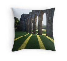Llanthony Priory Throw Pillow