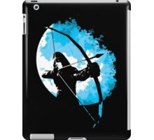 He walks at night... (Blue) iPad Case/Skin