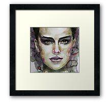 Black Swan - Natalie Portman Framed Print