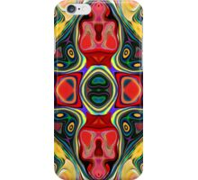 Abstract Shapes Mandala iPhone Case/Skin