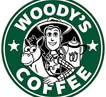 Woody's Coffee by Ellador