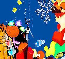 Corky the scuba-diver by Nornberg77