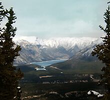 Overlooking Banff by Mui-Ling Teh