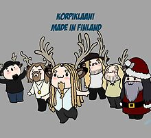 Korpiklaani, made in Finland. by Lindis