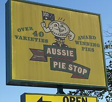 Aussie Pie Stop by James Millward