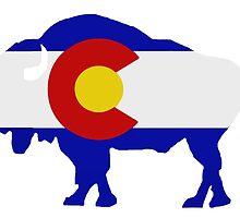 Colorado Buffalo by bleastudios