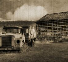 Latsha Lumber Company - Antique by Shelley Neff