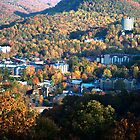Gatlinburg, Tennessee in the Fall by Danny Close