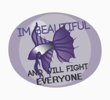 Beauty and the Butterfly Kick - Asexual by naatomic