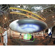 UFO Back Engineering at the Pakistani UFO Research Facility Photographic Print