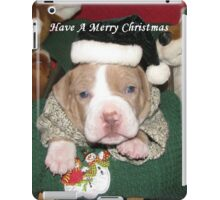 Have A Merry Christmas iPad Case/Skin