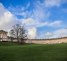 The Royal Crescent of Bath by Nicole Petegorsky