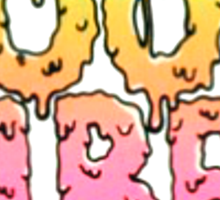 Good Vibes (In Pink and Yellow) Sticker