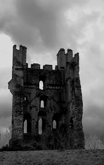Helmsley Castle by Hilary Robertshaw
