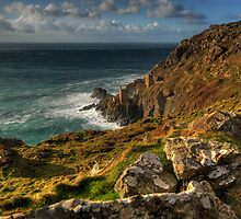 Crowns Botallack Mine, Cornwall by Caroline Bland