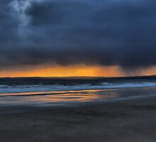 swansea bay from port talbot 2 by zacco