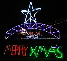 Merry Christmas in Lights by Penny Smith
