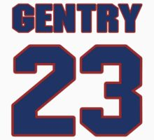 National baseball player Craig Gentry jersey 23 by imsport