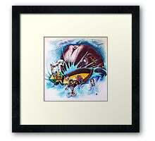 Save The Whale Framed Print