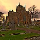 Dunfermline Abbey by davey lennox