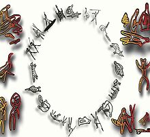 Tribal Circle by Blaqprodux3