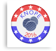 Knope 2016 Canvas Print