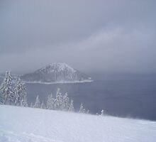 Crater Lake by crackgerbal