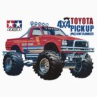 58111 Mountaineer Toyota 4x4 Pickup by pandagfx
