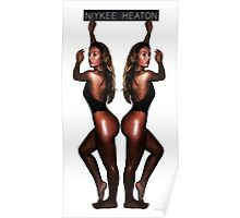Niykee Heaton on Fire Poster