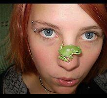 me & froggie by elizabethrose05