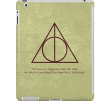 Dumbledore to Harry iPad Case/Skin