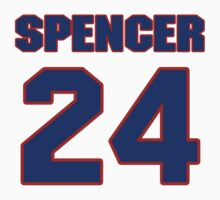 National baseball player George Spencer jersey 24 by imsport