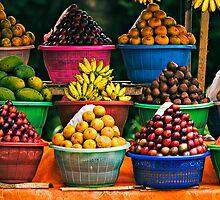 Bali Fruit Stand by Matt Koenig