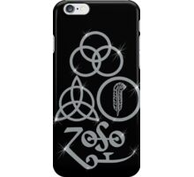 NEW DESIGN - Ancient Pagan Symbols (L) - Shine on You Crazy Diamond iPhone Case/Skin
