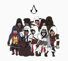 Assassin's Creed Characters 2 by KewlZidane