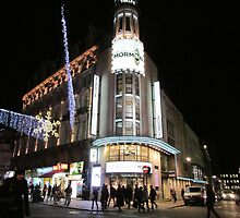 Leicester Square At Night   by hannahsart
