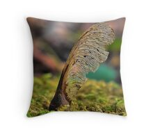 Helicopter pod Throw Pillow