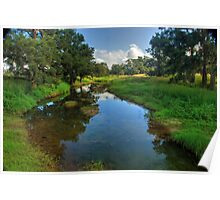 Glen Davis Creek Poster