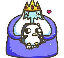 Ice King & Gunter by MonHood