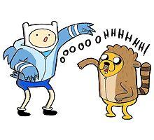 Finn & Jake - Regular Show by MonHood