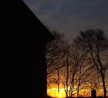 Brookline, Pa - December 2013 Sunrise (2) by BLaskowsky