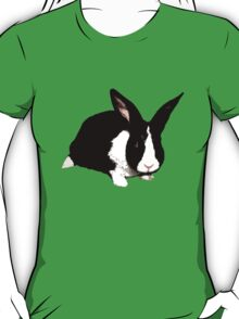 BLACK RABBIT CUTE  T-Shirt