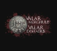 Valar Morghulis, Valar Dohaeris - Faceless Men by Madex