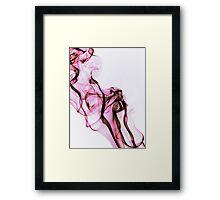 Silk Flower Framed Print