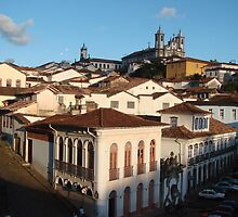 View of Ouro Preto, Brazil by Laura Jane Coelho