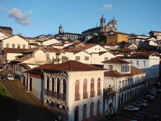 View of Ouro Preto, Brazil by Laura Jane Coelho