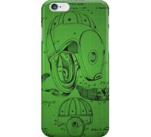 Football Helmet Patent  From 1927 - Green iPhone Case/Skin