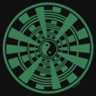 Mandala 36 Yin-Yang Green With Envy by sekodesigns