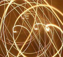 Twirled candles  by Carmel  Morrissy