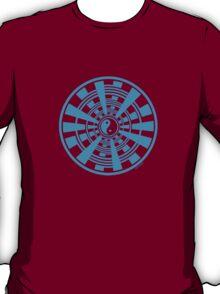 Mandala 36 Yin-Yang In To The Blue T-Shirt